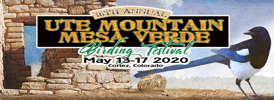 2020 Ute Mountain Mesa Verde Birding Festival banner